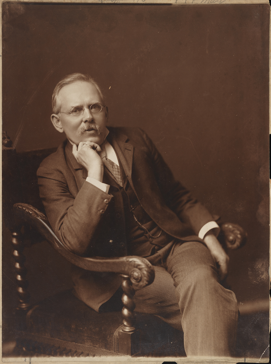 Portrait of Jacob Riis, by the Pach Brothers (1903) (courtesy Museum of the City of New York, Gift of Joseph Werner Reed)