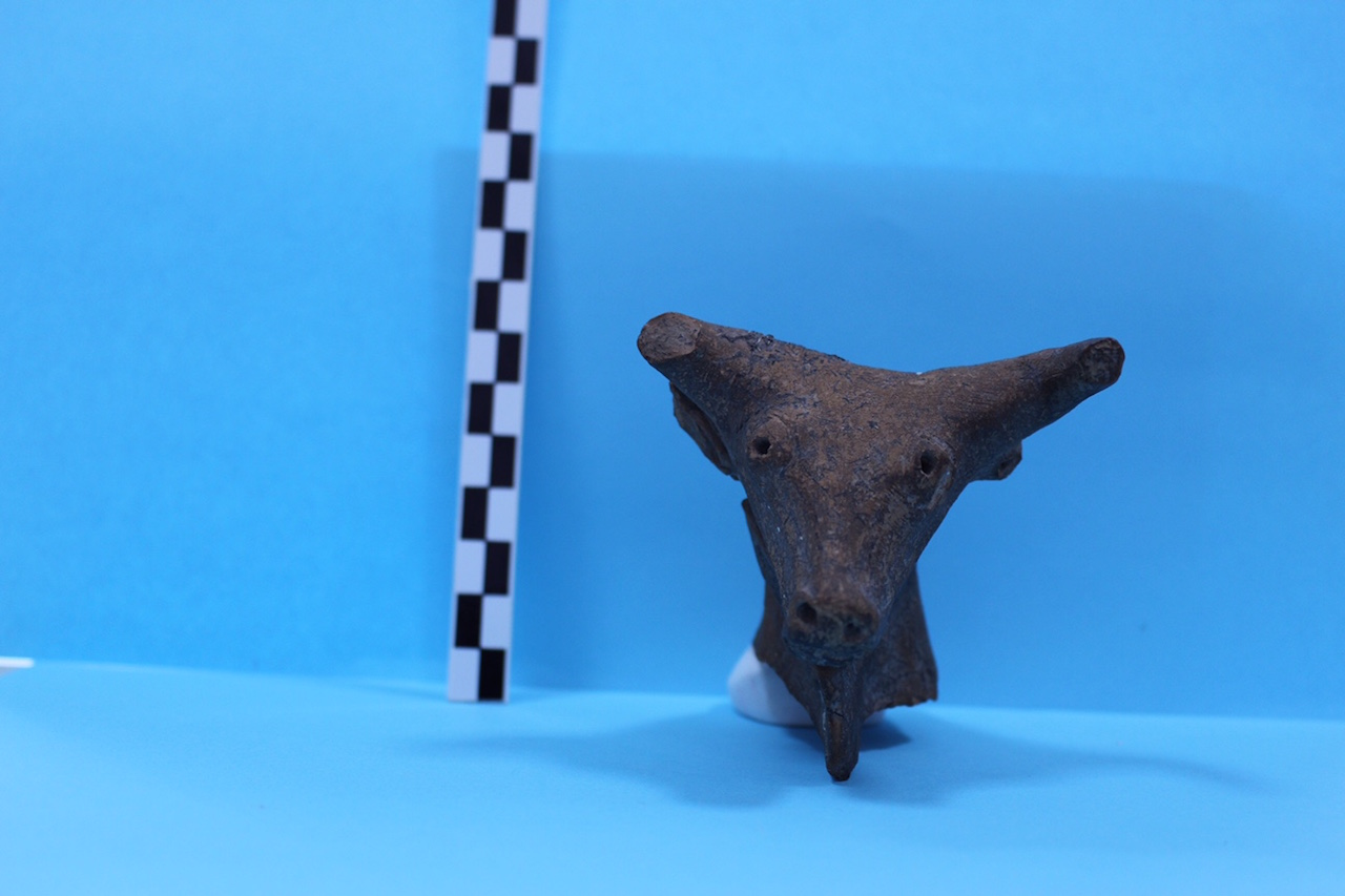 The Bronze Age terra-cotta bull recently returned to the Antalya Museum (all photos courtesy the Turkish Ministry of Culture and Tourism)