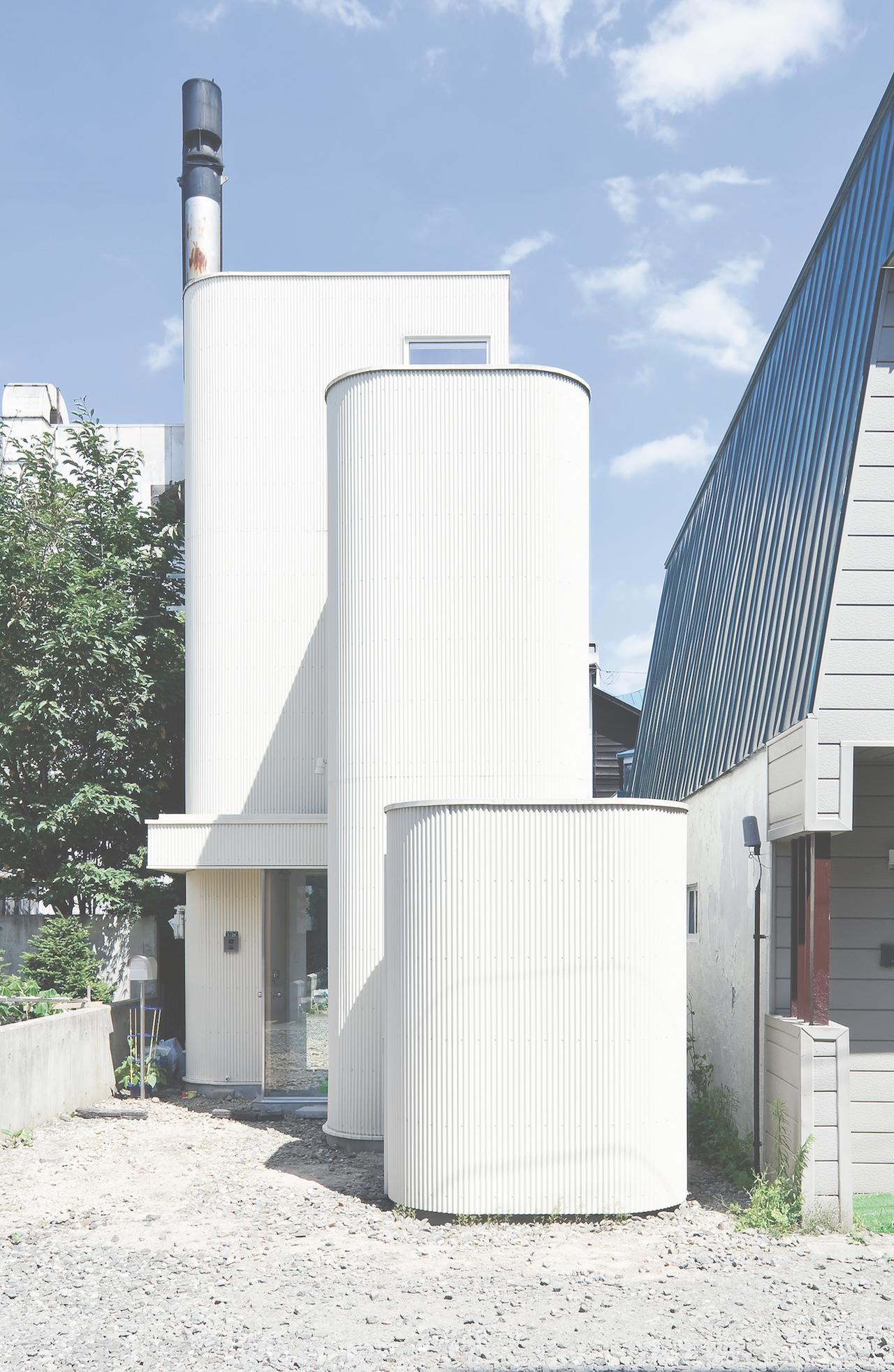 House Of Density 2013 By Jun Igarashi In Sapporo Hokkaido Prefecture