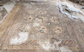 Post image for 1,700-Year-Old Mosaic Unearthed in Israel