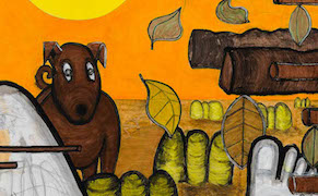 Post image for Don't Spook the Horse: Carroll Dunham on His New Work