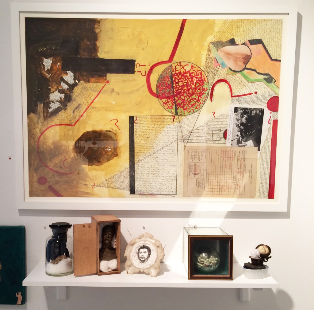 Various works by Sandra Ceballos