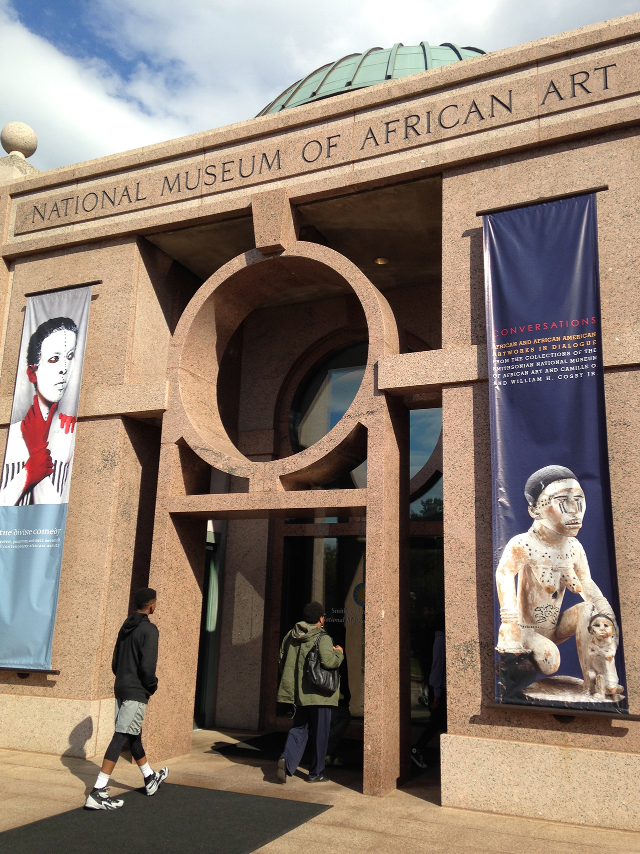 The Smithsonian National Museum of African Art (all photos by the author for Hyperallergic unless otherwise noted)
