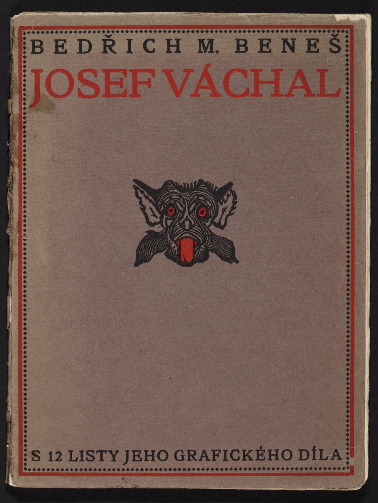 """Josef Váchal, illustration for """"Josef Váchal"""" (1914) by Bedřich Beneš Buchlovan"""