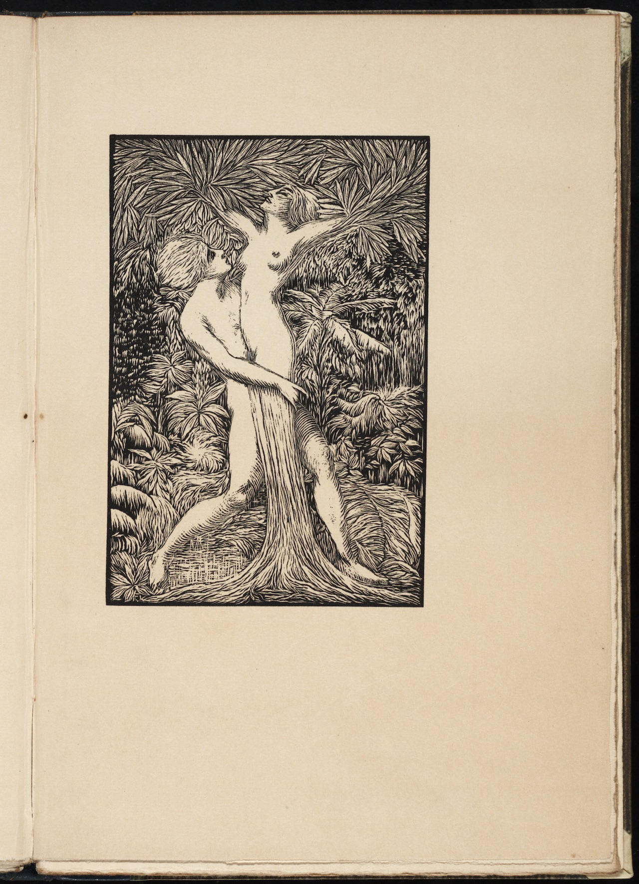 "Otakar Štáfl, illustration for ""Satanela"" (1921) by Jaroslav Vrchlický"
