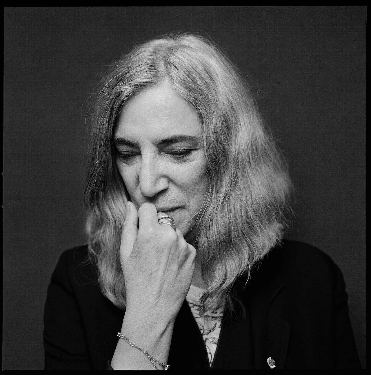 Patti Smith (all images courtesy of Knopf)