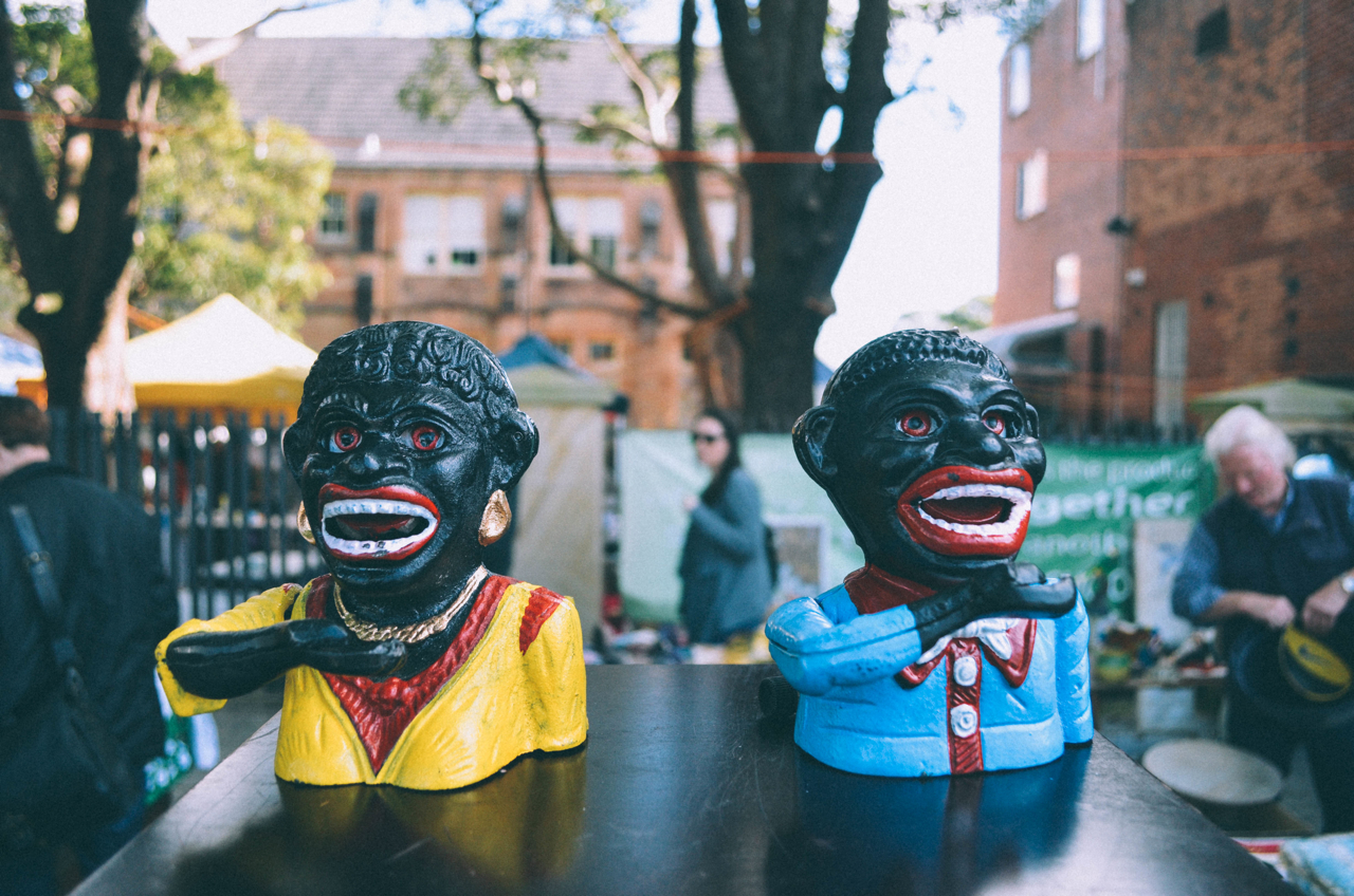 Racist imagery in tchotchke form. Photo courtesy of Eddy Milfort via Flickr