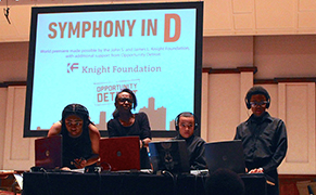 Post image for Composing the Sounds of Detroit into a Symphony