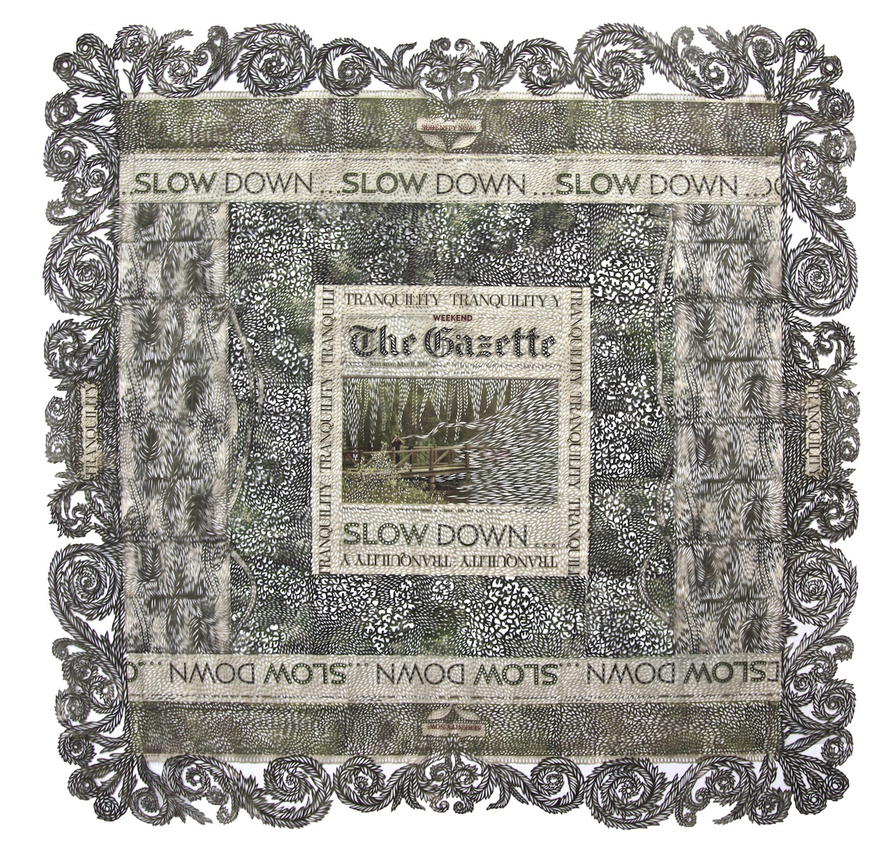 Saturday, May 31, Slow Down