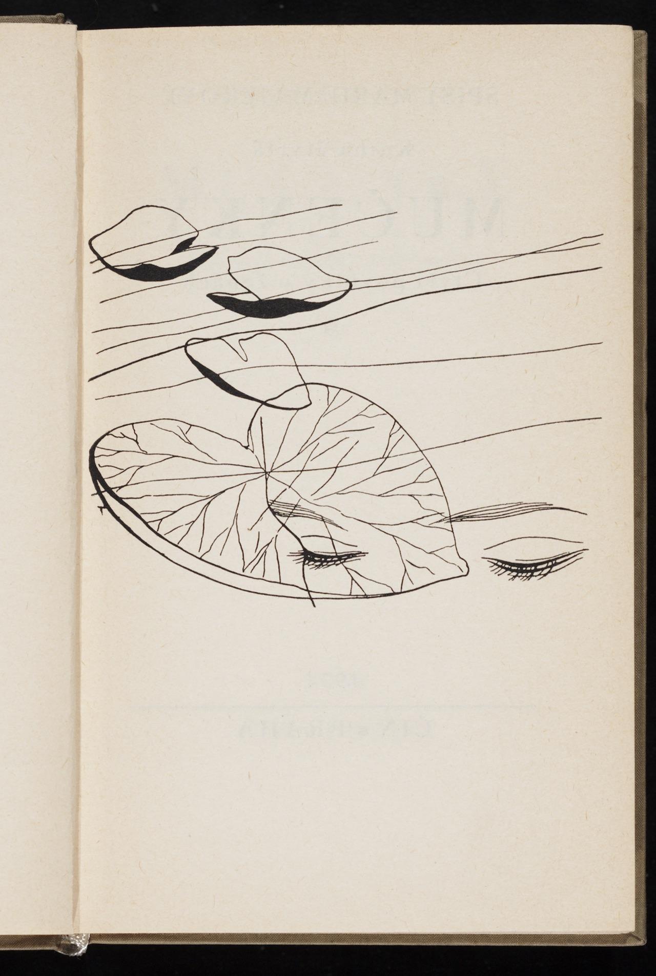 """Toyen, illustration for """"Mučenky: čtyři povídky o ženách"""" (1934) by Marie Majerová"""