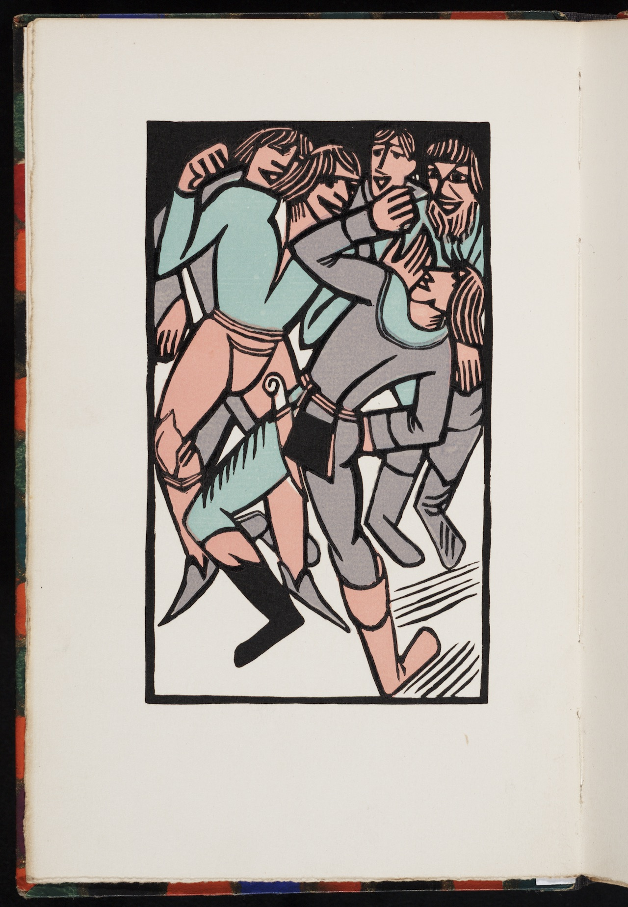 """Václav Mašek, illustration for """"Komedye masopustní"""" (1930) by various authors"""