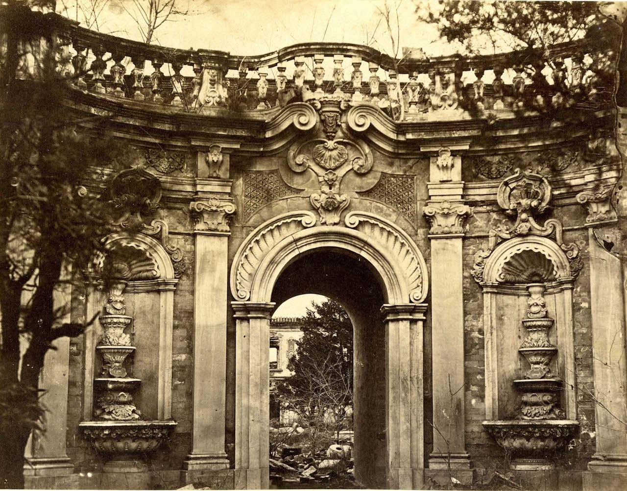 Yuan Ming Yuan. Summer Palace.
