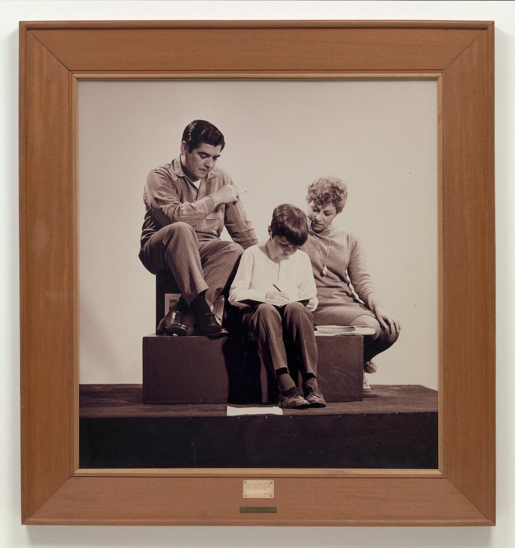 "Oscar Bony, ""La Familia Obrera (The Working Class Family)"" (1968), gelatin silver print"