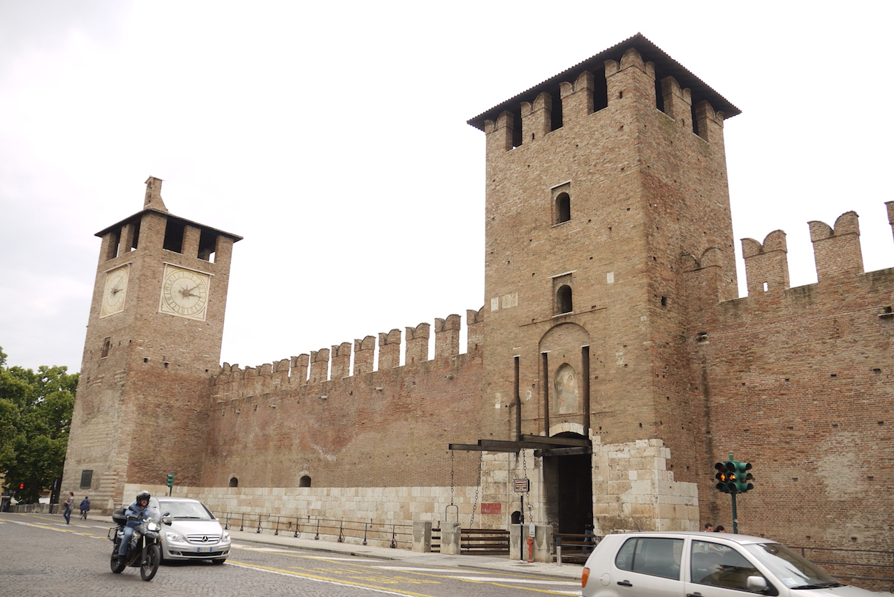 The main entrance to the Museo di Castelvecchio in Verona (photo by Richard, enjoy my life!/Flickr)