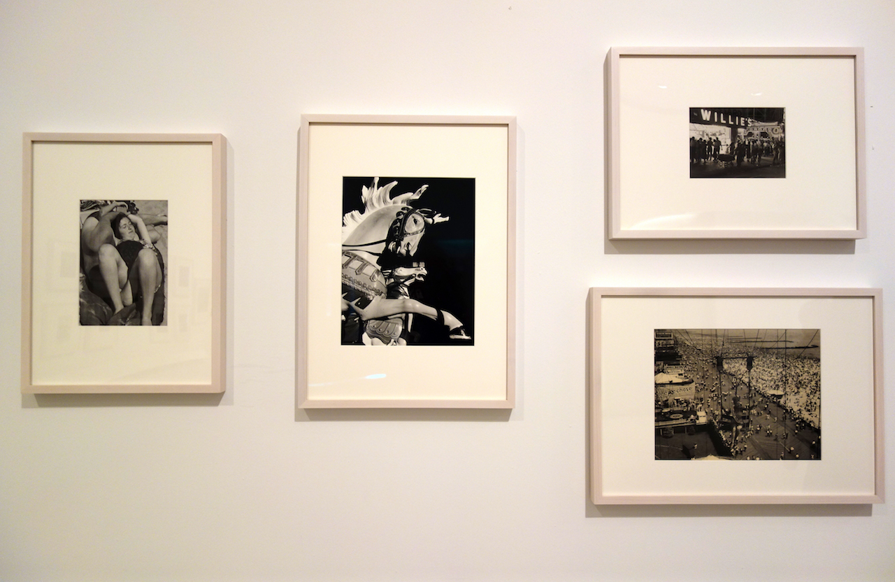 Installation view of 'Forever Coney: Photographs from the Brooklyn Museum Collection'