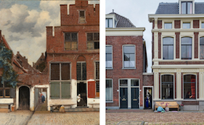 """Post image for Exact Location of Vermeer's """"The Little Street"""" Discovered"""