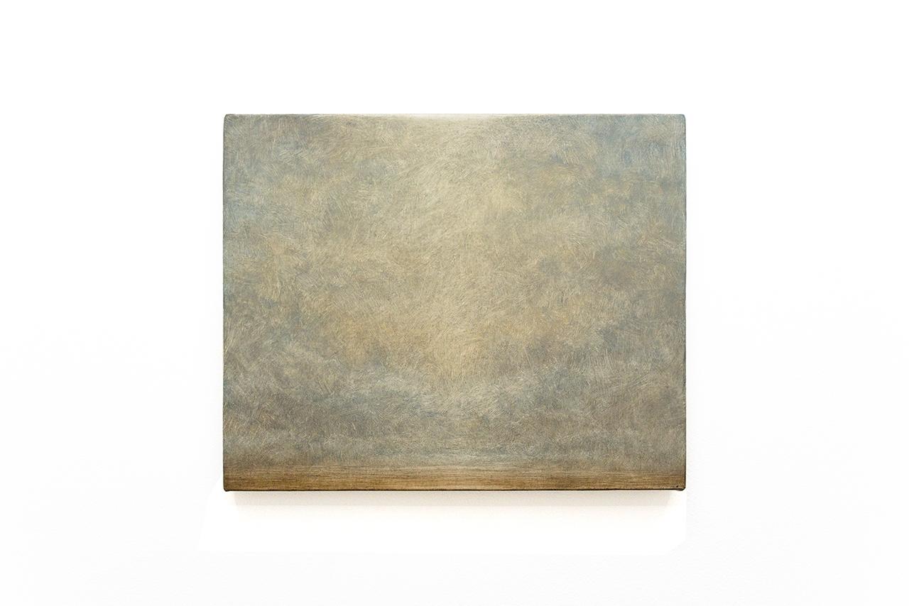 "Lucas Arruda, ""Untitled (Deserto - Modelo)"" (2015), oil on canvas, 30 x 37 cm"