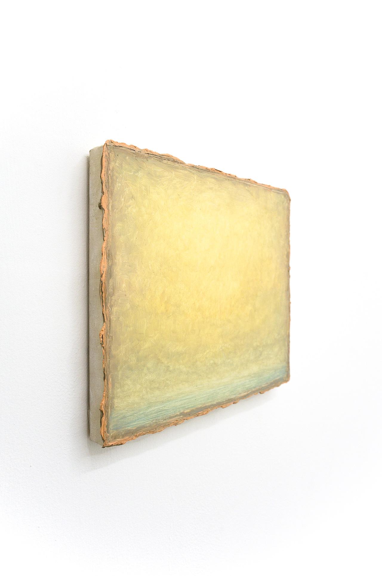 "Lucas Arruda, ""Untitled (Deserto - Modelo)"" (2015), oil on canvas, 25 x 31 cm"