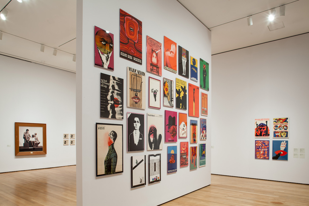 Installation view of 'Transmissions: Art in Eastern Europe and Latin America, 1960–1980' (all photos courtesy The Museum of Modern Art)