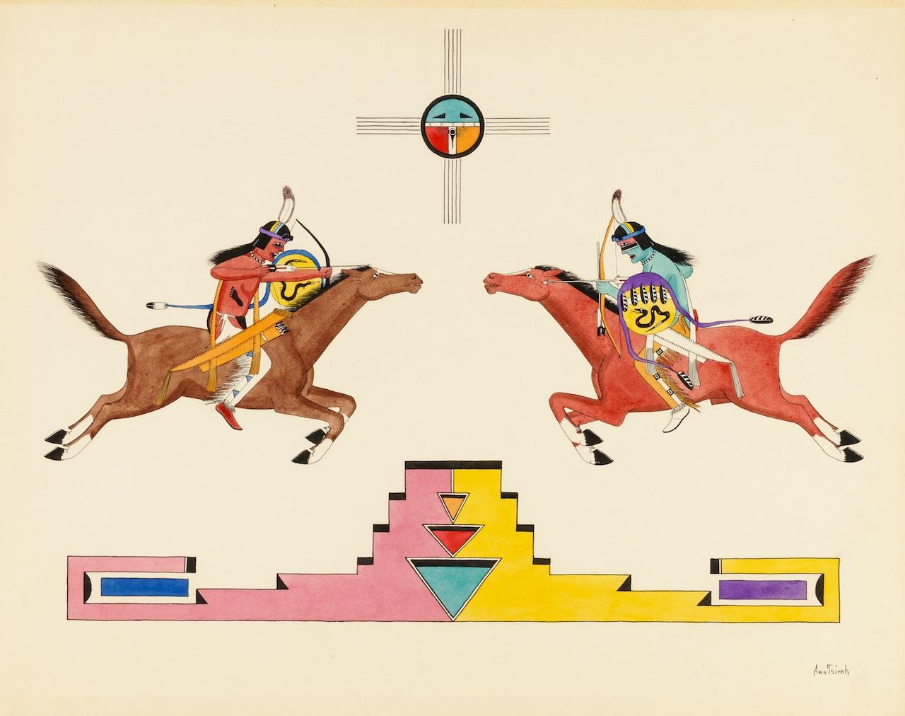 tsireh_mounted_warriors copy