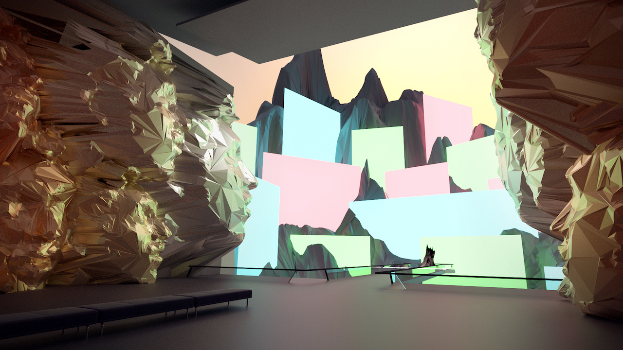 Mark Dorf, Room Nine at Panther Modern (image courtesy the artist) (click to enlarge)