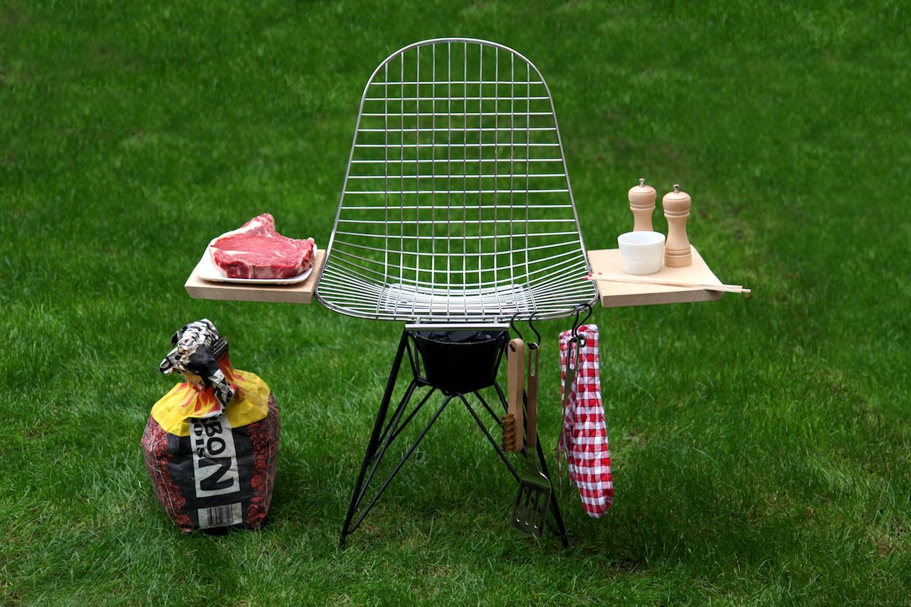 "Designstudio, ""Barbecue Eames"" (all images courtesy La Source)"