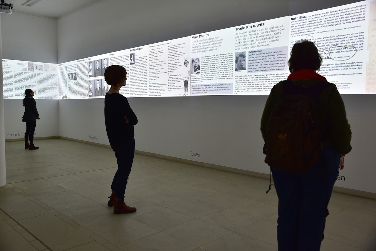 Installation view of the Center for for Persecuted Arts