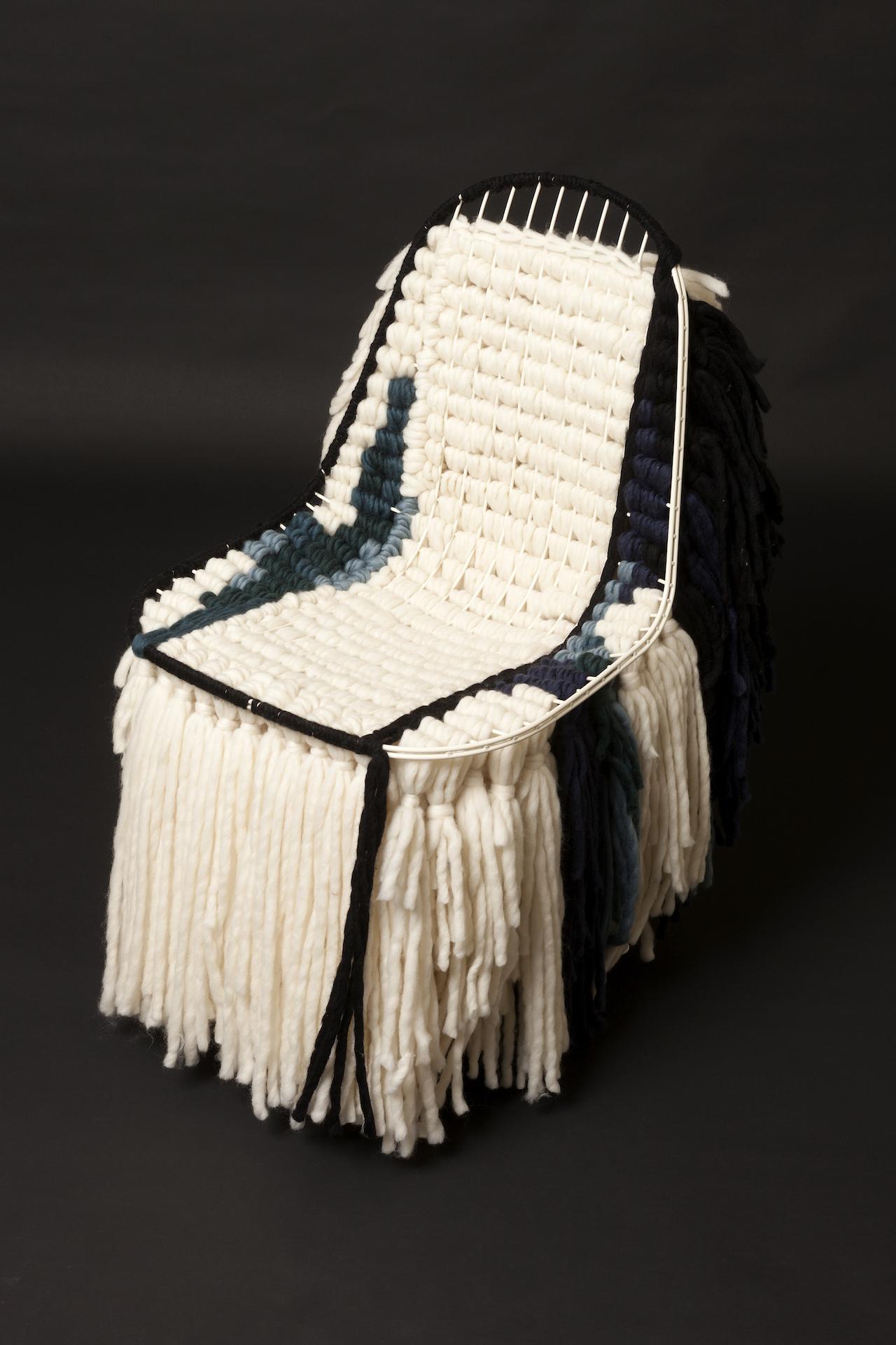 "India Mahdavi, ""Lola Rasta Chair"" (click to enlarge)"