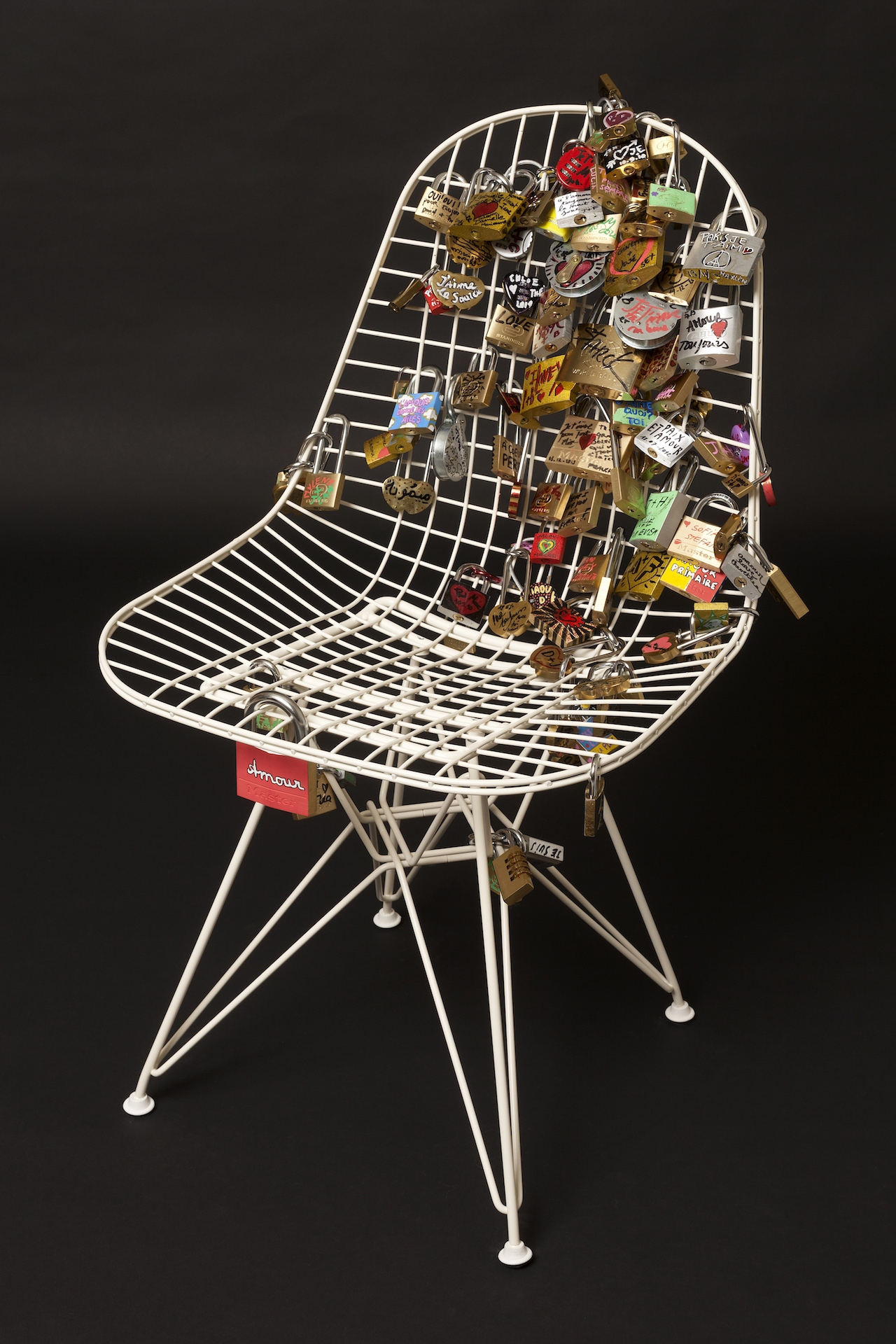50 Reinterpretations of the Eames Wire Chair