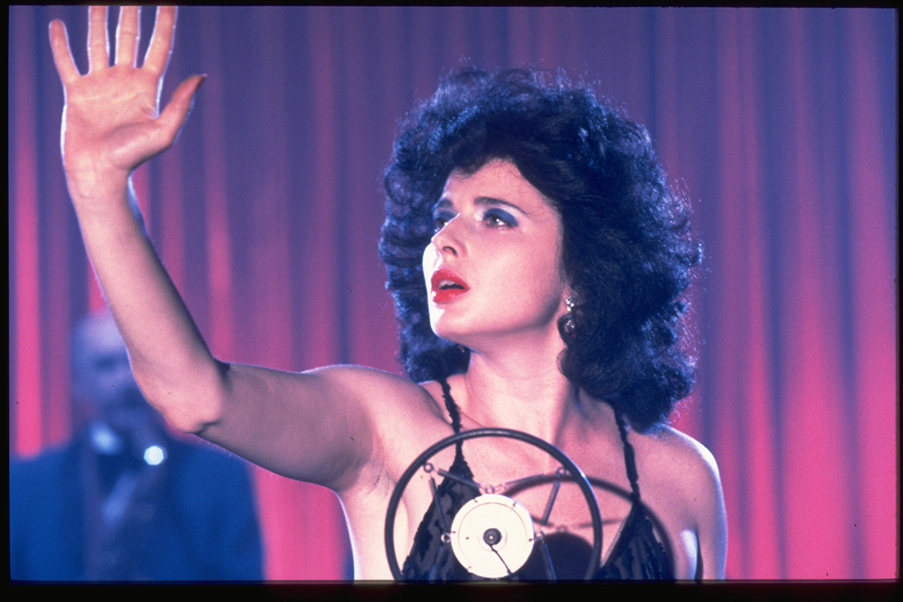 Isabella Rossellini in 'Blue Velvet' (1986) (image courtesy Park Circus/MGM)