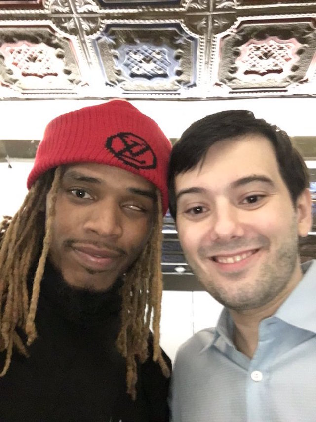 A recent pic from Martin Shkreli's Twitter feed (Image via Twitter)
