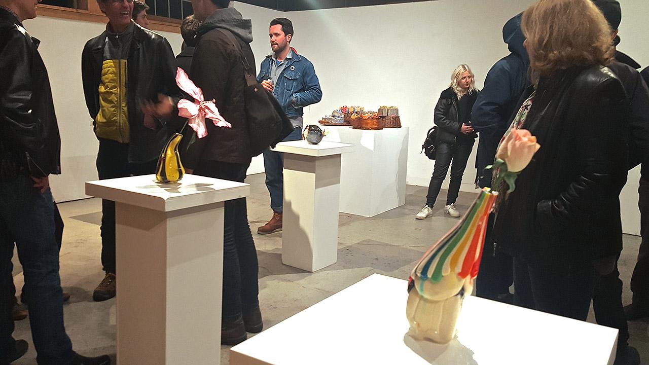 'Vases,' installation view