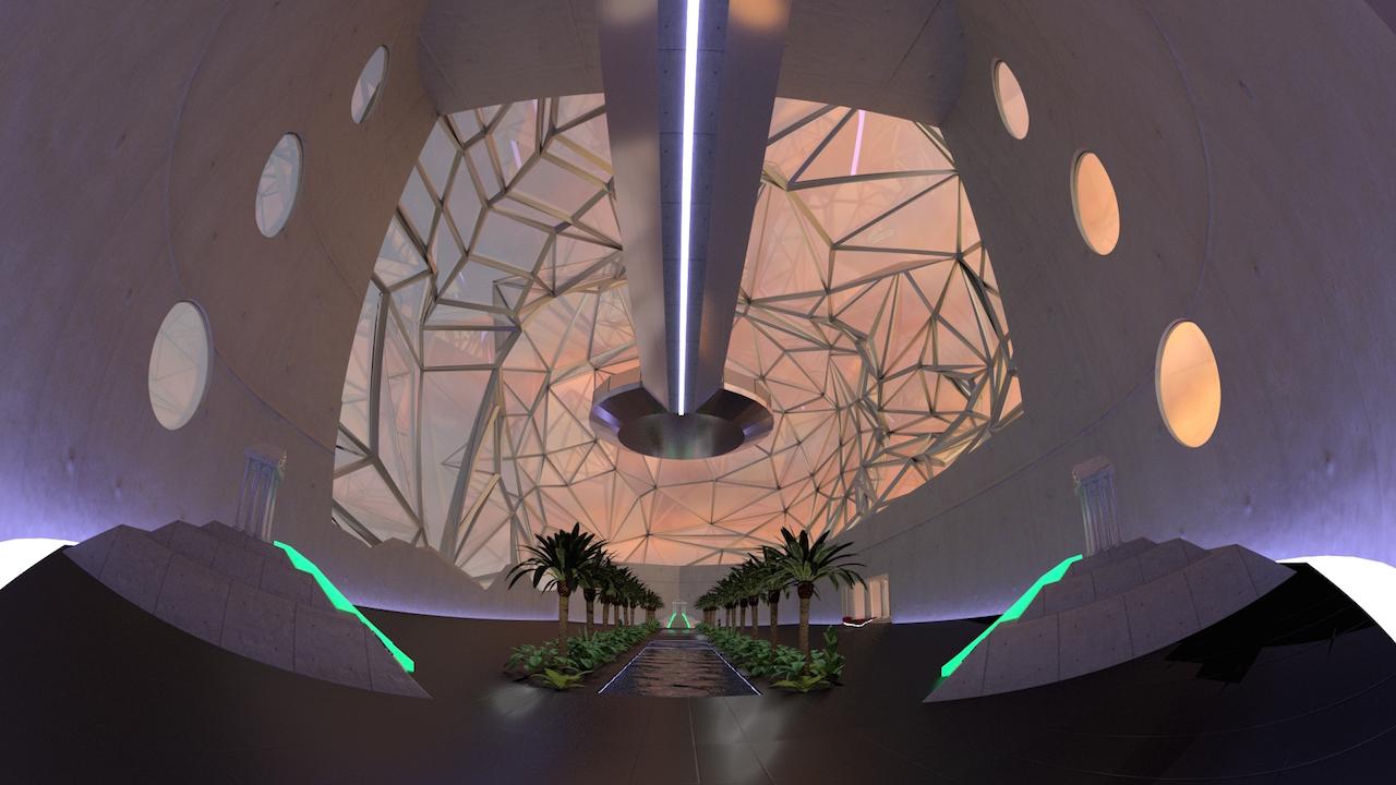 Inside DiMoDA (courtesy the artists)