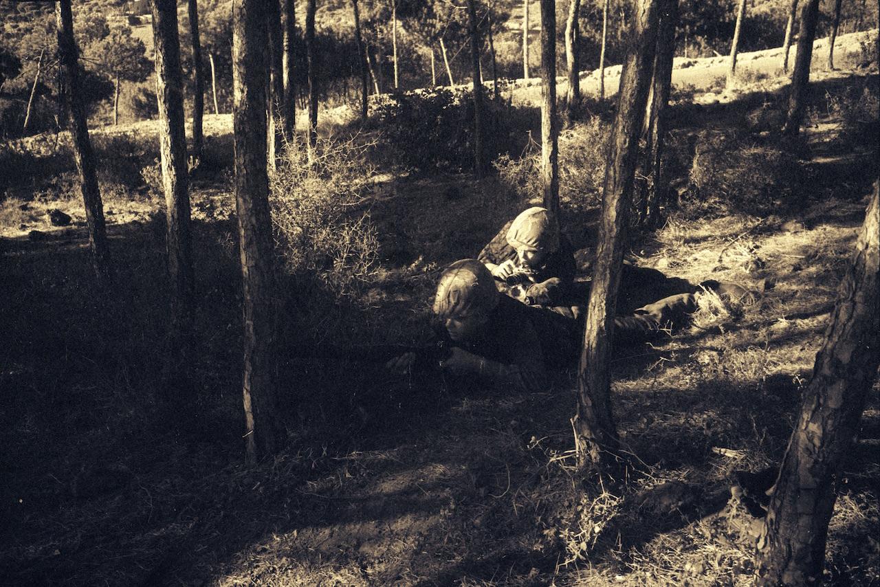 Dickey photographing Lebanon 1958 WHiImageID 15297