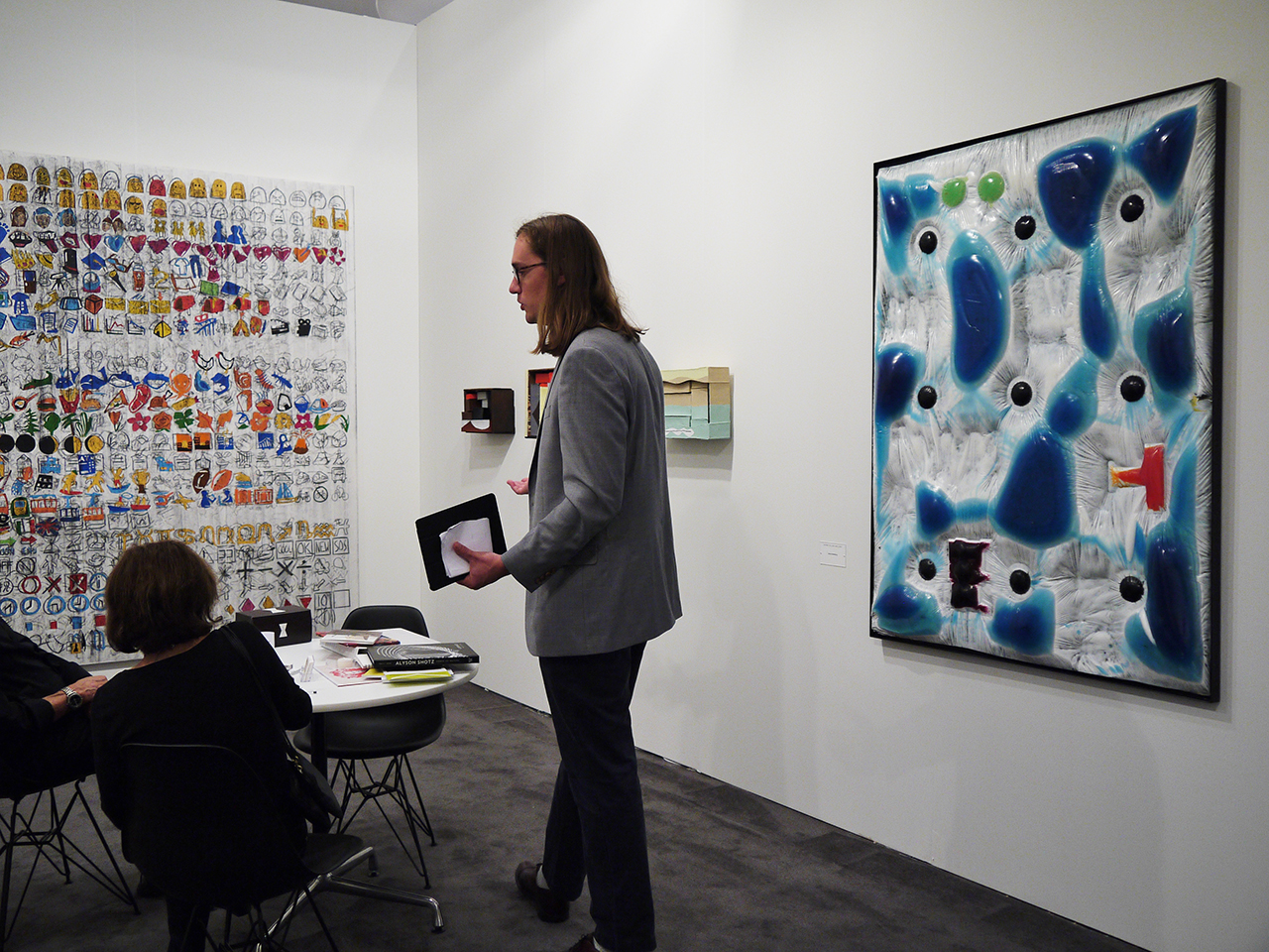 Work by Jesse Greenberg at Derek Eller Gallery
