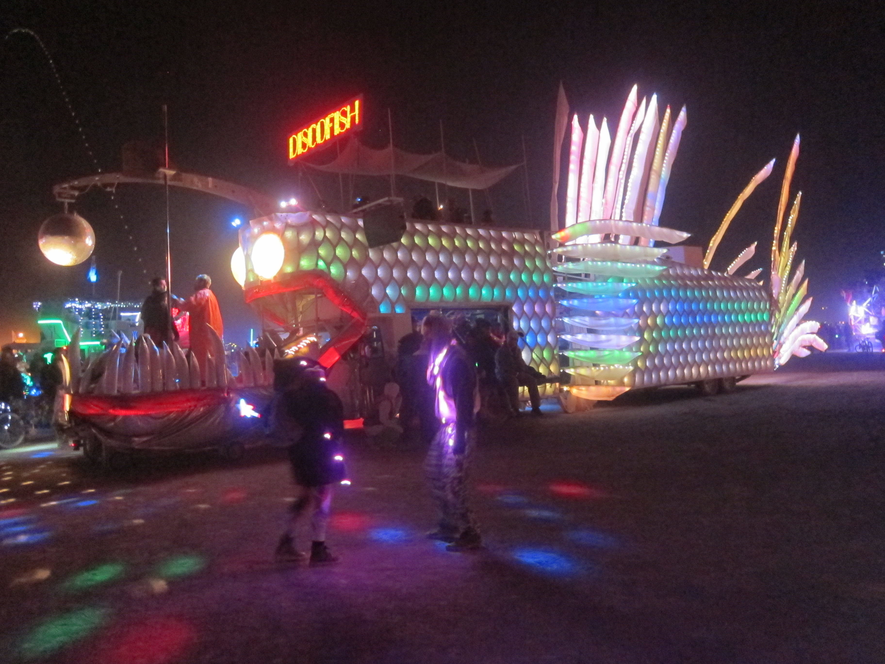 DiscoFish art car