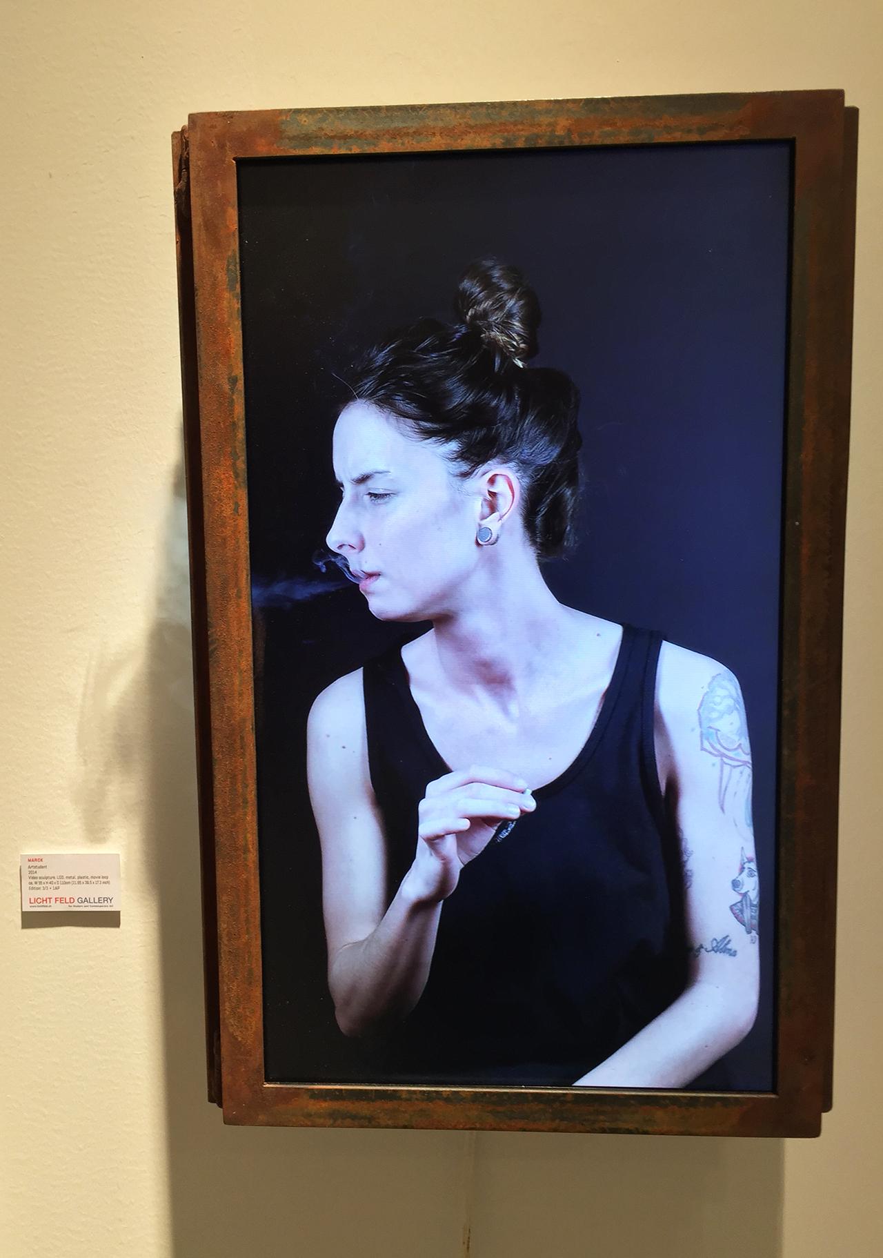 """MARCK, """"Artstudent"""" at Licht Feld Gallery"""