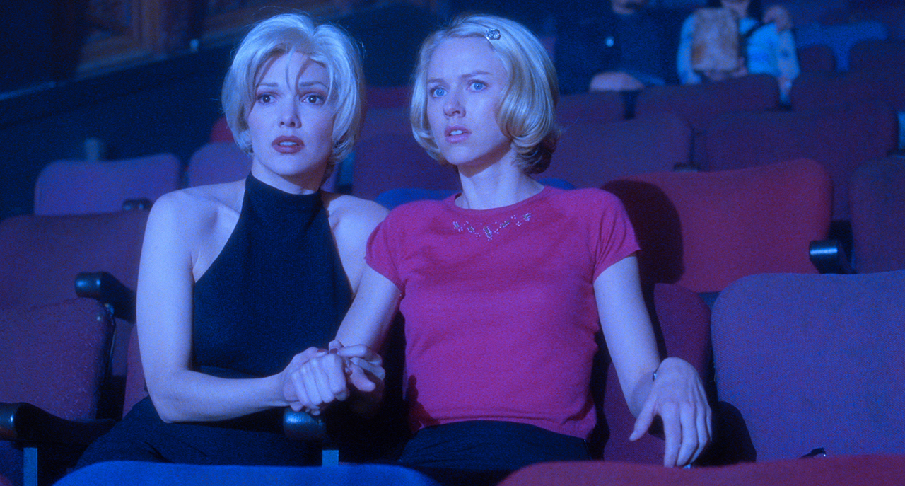 Laura Harring and Naomi Watts in 'Mulholland Dr.' (image courtesy The Criterion Collection)
