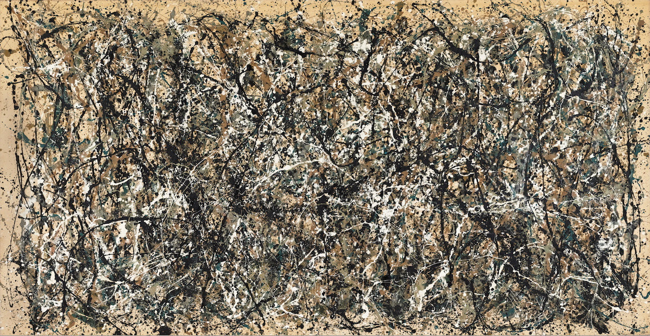 "Jackson Pollock, "" One: Number 31, 1950"" (1950) (image courtesy of MoMA, © 2015 Pollock-Krasner Foundation / Artists Rights Society, New York)"