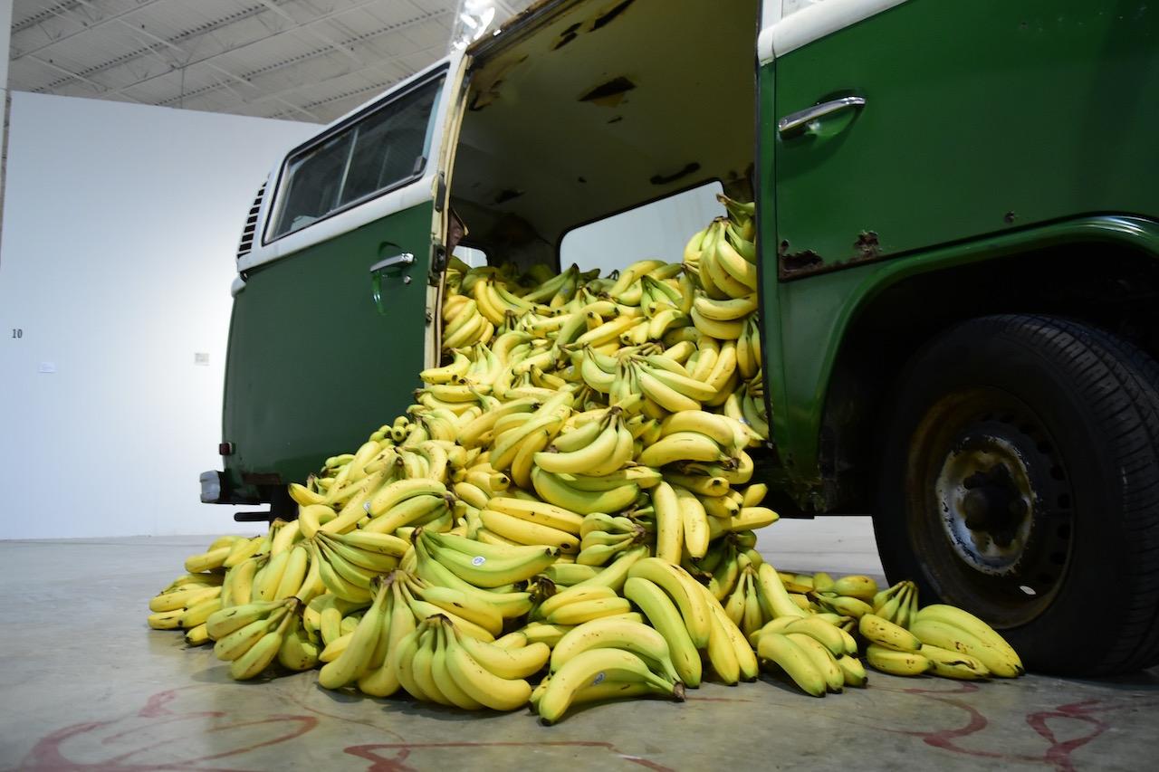 """Paula Nazareth, """"Banana Market"""" (2011) in 'Everything I am you are not' at Mana Wynwood"""