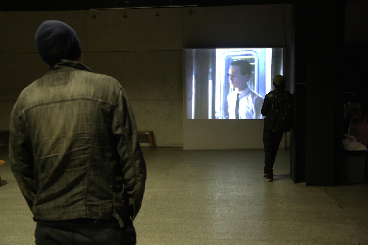 Installation view of Ricardo Nicolayevsky's 'Lost Portraits' at the Centro de Cultura Digital (photo courtesy the Centro de Cultura Digital)