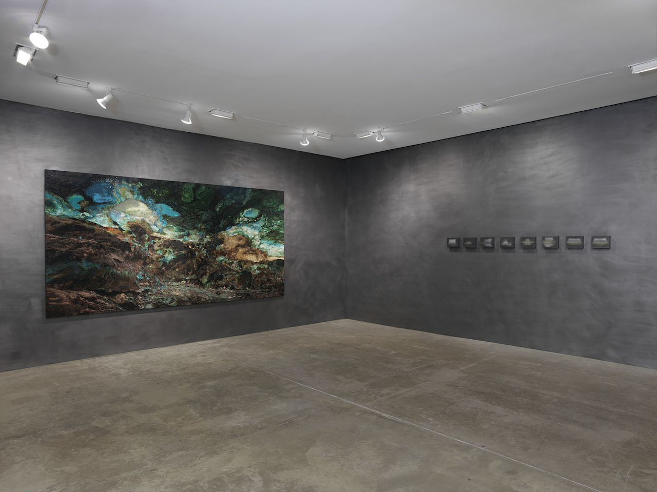 Teresita Fernández, installation view (courtesy the artist and Lehmann Maupin, New York and Hong Kong)