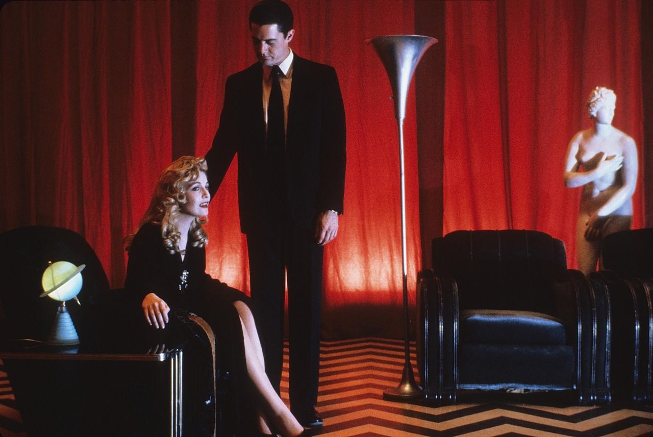 Sheryl Lee and Kyle MacLachlan in 'Twin Peaks: Fire Walk With Me' (1992)
