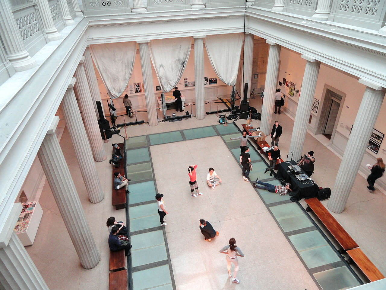 An event in the old Corcoran building (photo by Daderot/Wikimedia Commons)