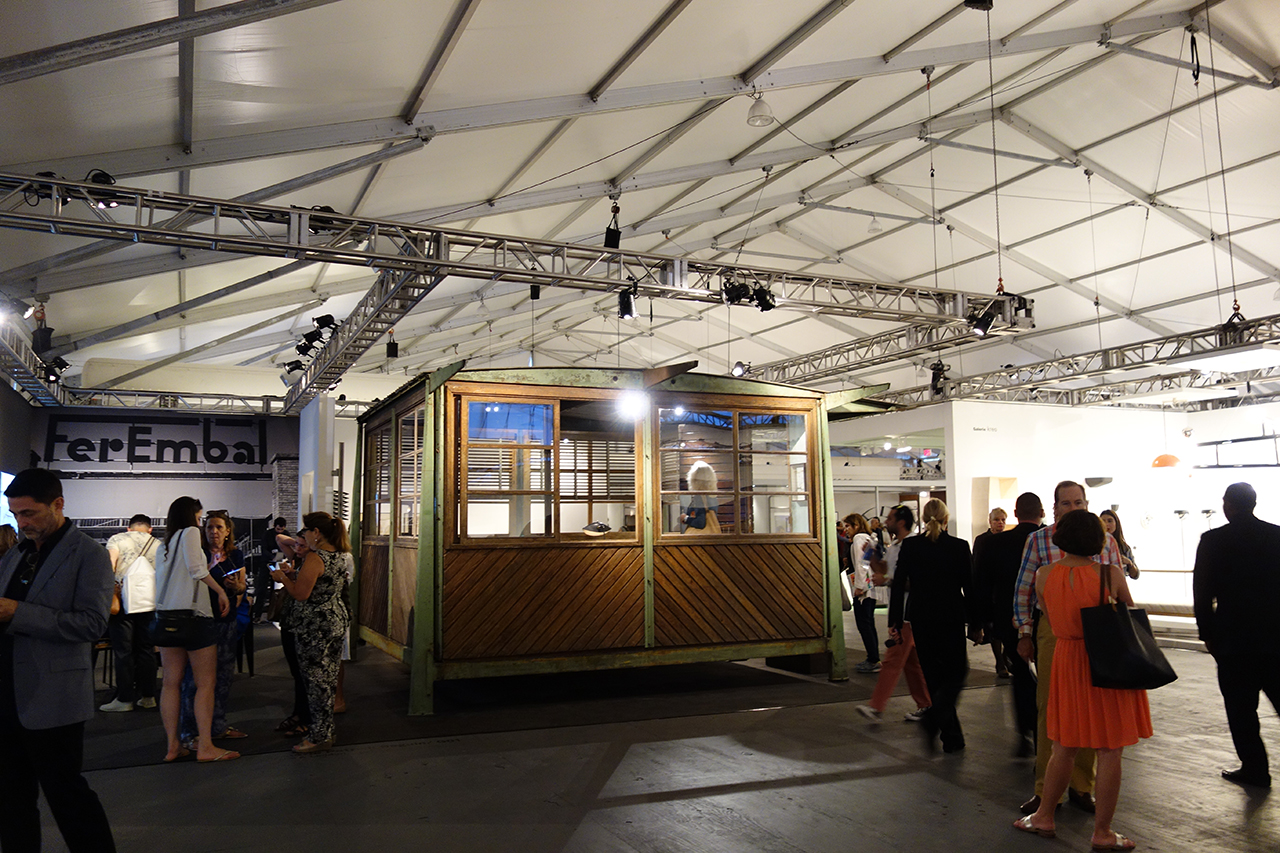 """Jean Prouvé, """"4x4 Demountable Military Shelter"""" (1939), with Galerie Patrick Seguin at Design Miami"""