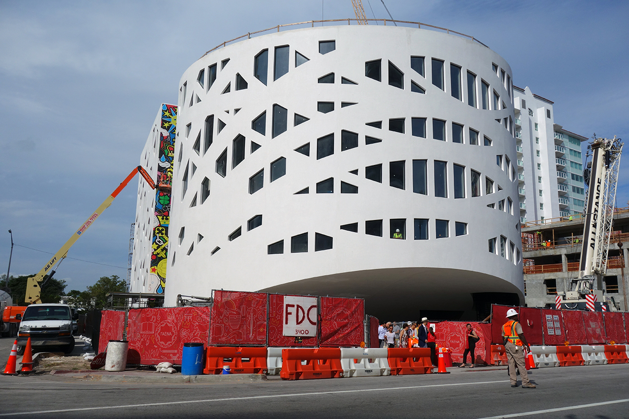 Faena Forum in Miami Beach, designed by Rem Koolhaas and OMA