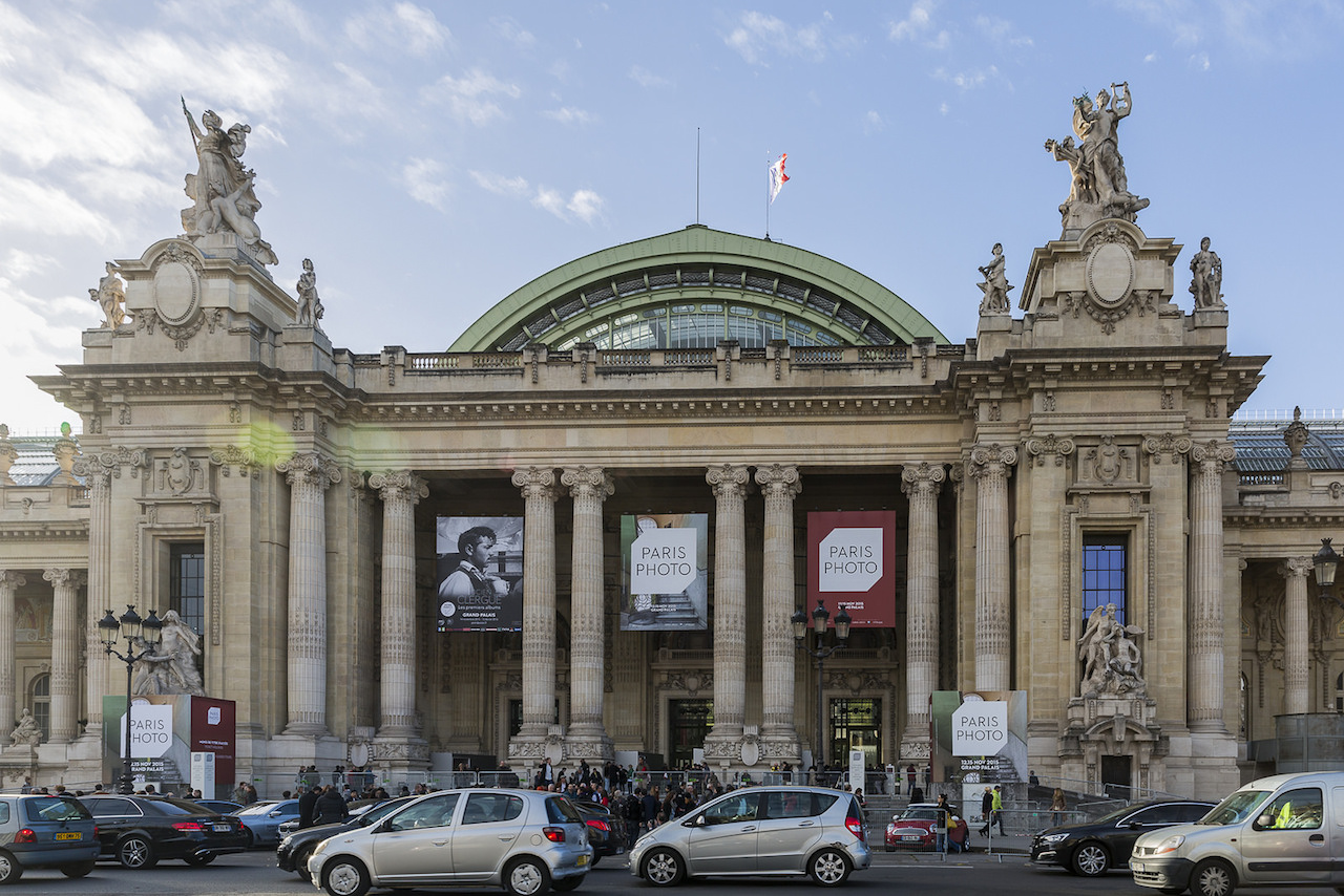The Grand Palais, seen here during the recent Paris Photo art fair, will close in 2019 for renovations. (photo by ninara/Flickr)