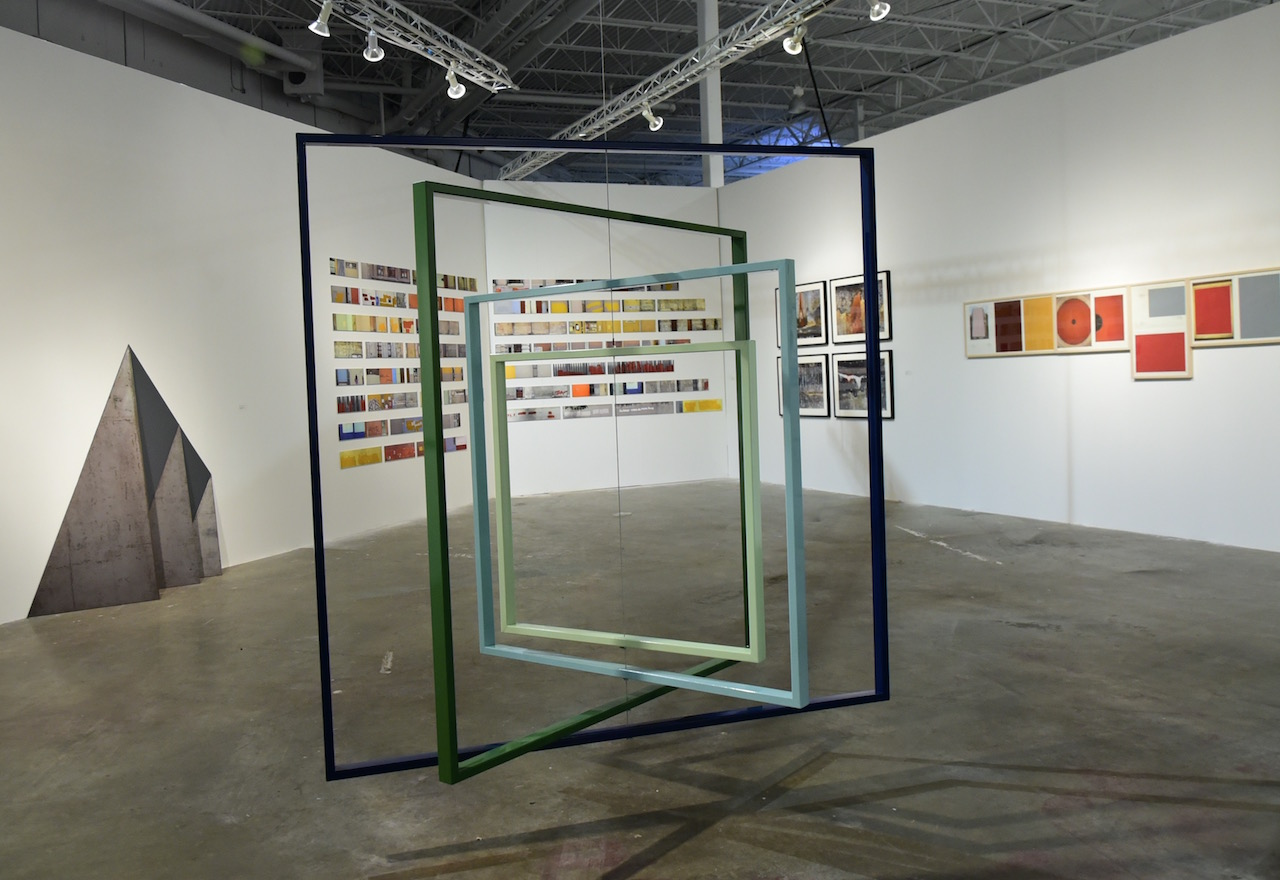 Installation view of 'A Sense of Place' at Mana Wynwood