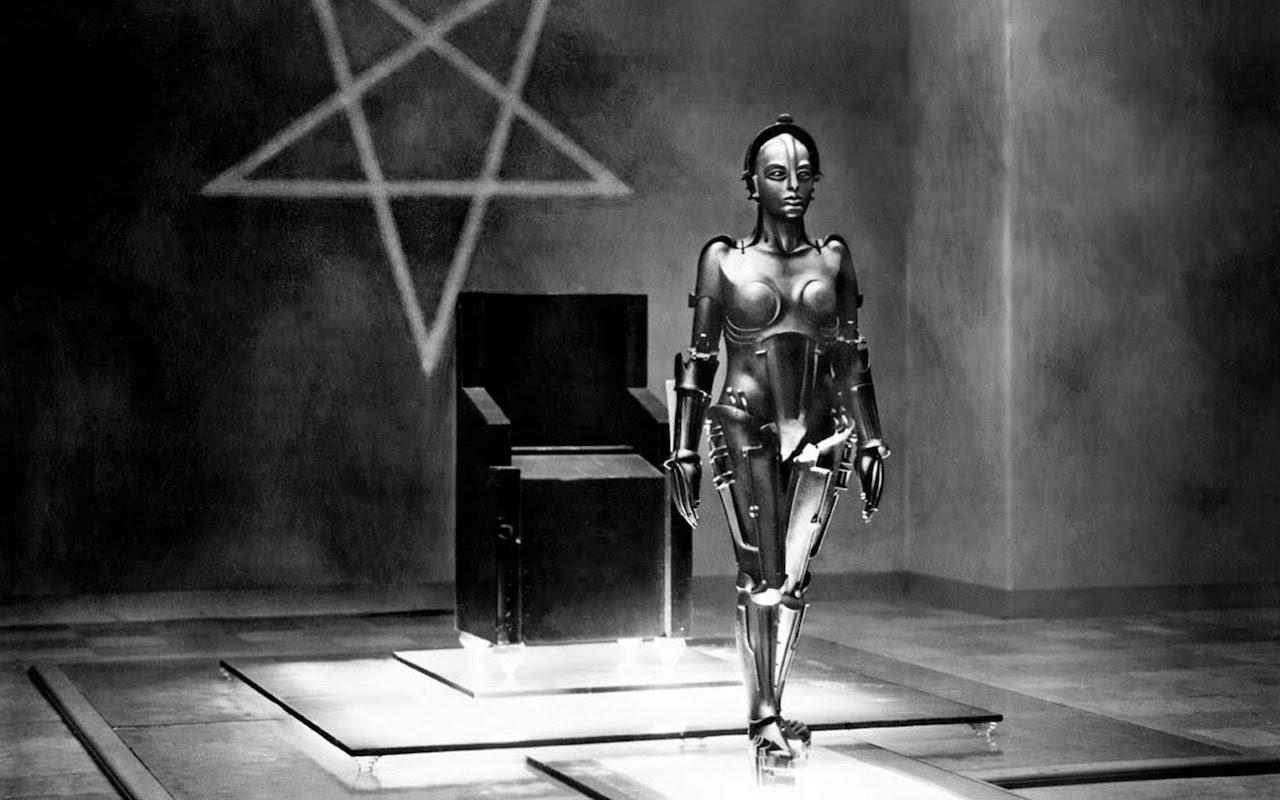 Still from 'Metropolis' (1927) (via YouTube)