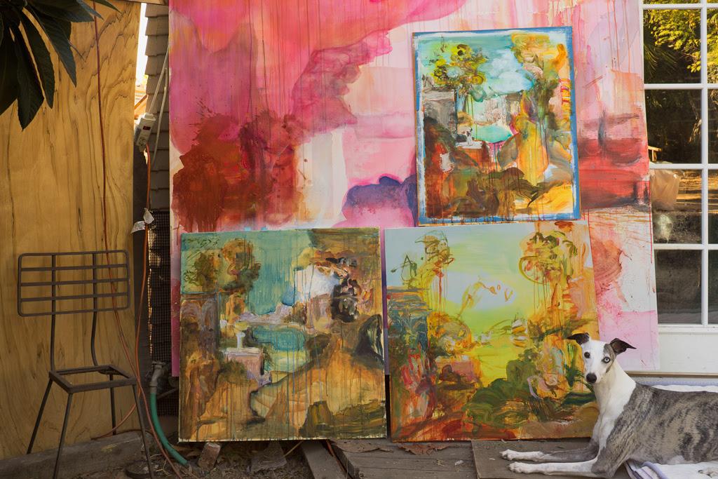 M.A. Peers's studio (photo by Grant Mudford, via rosamundfelsen.com)